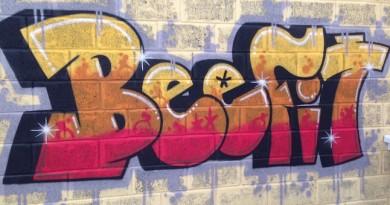 Beefit Graffiti