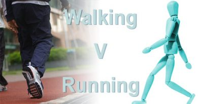 walking versus running as exercise