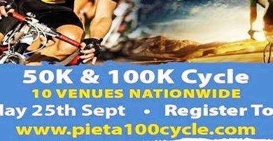 Pieta House 100k & 50K Cycle September 2016